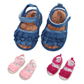 Bebé sandalia zuecos shoes summer infant shoes recién nacido princesa shoes infant soft sole shoes 0-18 m