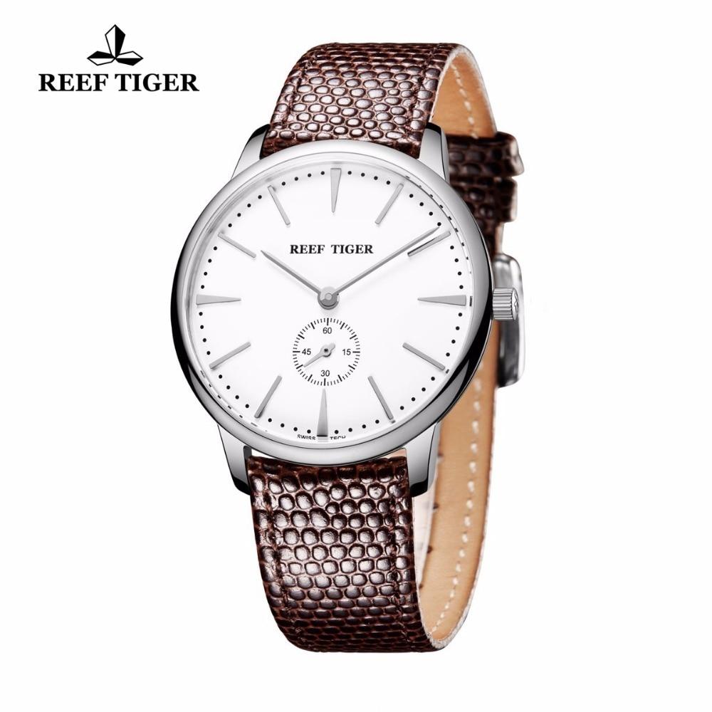 Reef Tiger / RT қарапайым стильді кварц - Ерлердің сағаттары - фото 2