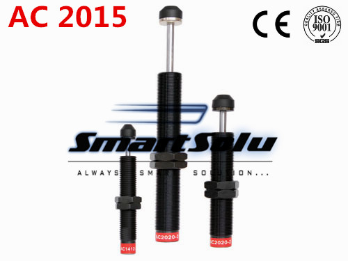free shipping 1pcs AC2015 M20x1.5 Pneumatic Hydraulic Shock Absorber Damper 15mm stroke free shipping 1pcs m42x1 5 pneumatic hydraulic shock absorber damper 25mm stroke ad 4225