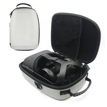 Travel Case for Oculus Quest VR Gaming Headset and Controllers Accessories Carrying Storage Bag 2019 new russia vr headset rack display holder stand for oculus rift s oculus quest vr headset and touch controllers
