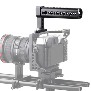 Image 5 - SmallRig אוניברסלי למעלה ידית אחיזה עם קר נעל צלחת עבור דיגיטלי Dslr מצלמה כלוב צגים LED מיקרופון נעל הר DIY 1638