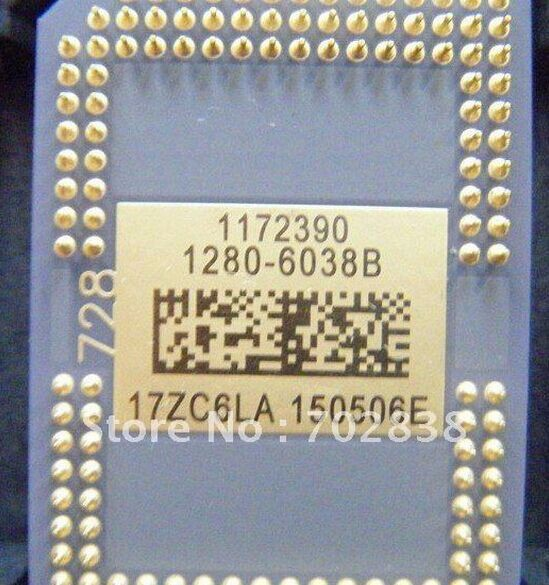 ร้อนขาย DMD ชิปใหม่ 1280 6338B 1280 6438B เปลี่ยน 1272 6038B 1272 6039B 1272 6338B โปรเจคเตอร์จำนวนมากสำหรับ W600 สำหรับ H5360 ใหม่
