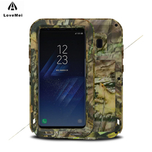 LOVE MEI Camo Series Shockproof Dirt proof Drop proof Camouflage Protector Cover for Samsung font b