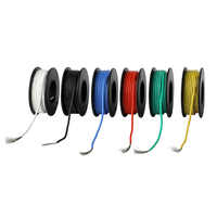 6-10m Soft Silicone Insulator UL3132 22 AWG Electrical Wire Tinned Copper Stranded Hook-up Wire 300V 6 Colors for DIY Toys Lamp