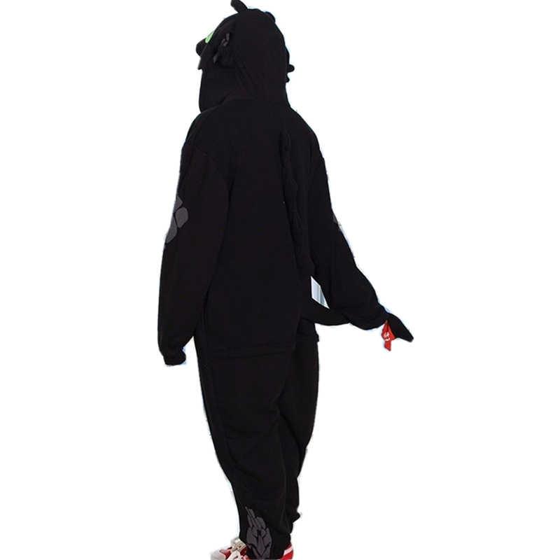 Футболка с изображением героев мультфильма «Как приручить дракона Беззубика унисекс пижамы косплейный костюм