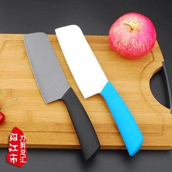Керамический нож, Черные Керамические ножи для фруктов, нож для резки мяса, изысканный черный нож, 6 дюймов, современный кухонный нож, острый,...