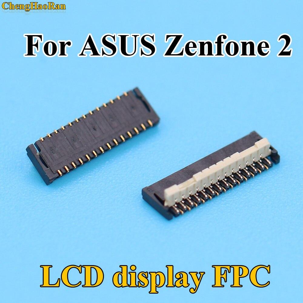 2pcs 5pcs Original New LCD Display FPC Connector Port Plug On Mainboard For ASUS Zenfone2 ZE500KL Z00ED Zenfone 2 27pin 27 Pin