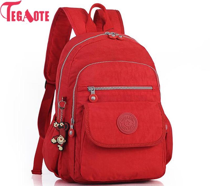 TEGAOTE Backpacks Women Teenage-Girls Travel-Bags Female for Mochilas Feminina Mujer