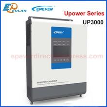 EPEVER MPPT контроллер солнечного зарядного устройства 30A зарядное устройство и инвертор Гибридный UP3000 чистая Синусоидальная волна с выходом переменного тока 220 В/230 В батарея 24 В