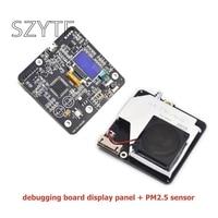 The Laser PM2 5 Sensor SDS011 Debug Board Display Board PM2 5 Digital Display Module PM2