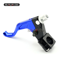 For 22mm 7 8 Handlebar Motocross MX Dirt Bike CNC Short Stunt Clutch Lever Pro Caken