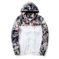 Fashion Mens Hooded Jacket 2017 Autumn Slim Fit Long Sleeve HommeTrendy Coat Brand Clothing