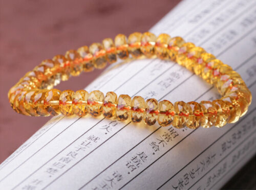 Genuine Natural Citrine Yellow Gemstone Abacus Round Beads Bracelet Women 7mm 8mm 9mm 10mmBrazil Wealthy Stone Best Gift AAAAAGenuine Natural Citrine Yellow Gemstone Abacus Round Beads Bracelet Women 7mm 8mm 9mm 10mmBrazil Wealthy Stone Best Gift AAAAA