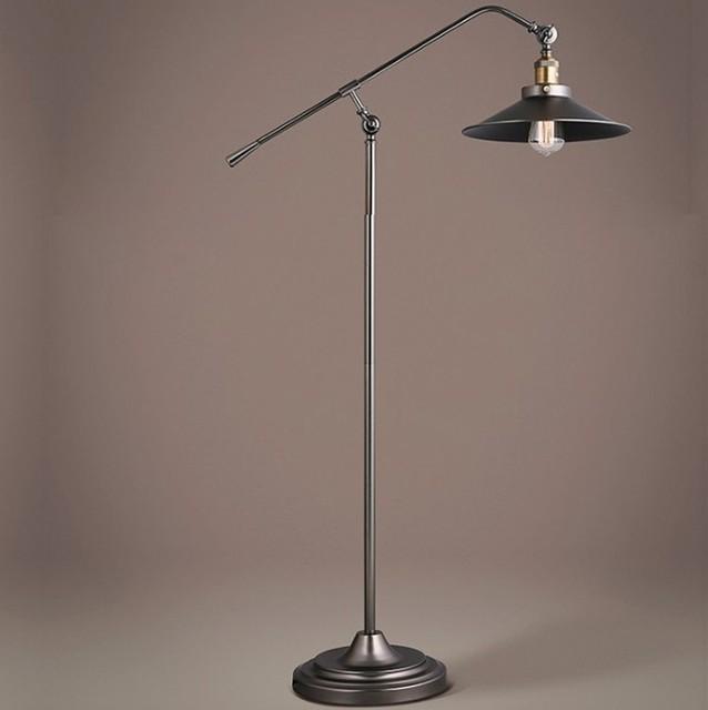 Vintage Floor Lamp American country bedroom den creative retro ...