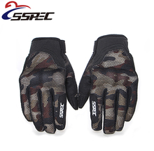 Motorcycle Touch Screen Gloves Guantes Motorbike 3D breathable net Full Finger glove Off-Road locomotive racing gloves
