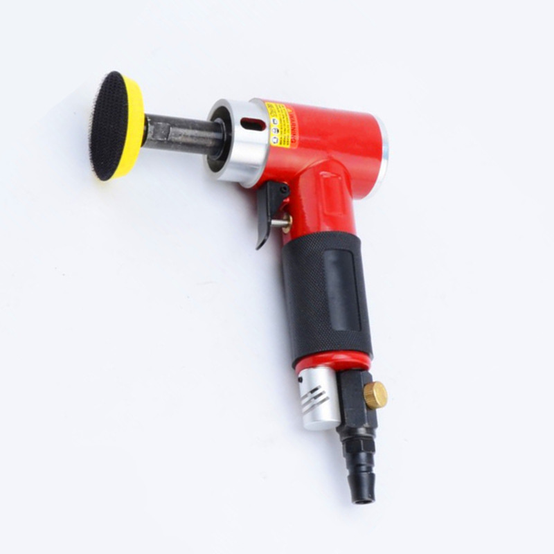 2 inch 90 degree small pneumatic polisher straight centricity grinding machine air sanding tool long spindle straight model vibration type pneumatic sanding machine rectangle grinding machine sand vibration machine polishing machine 70x100mm