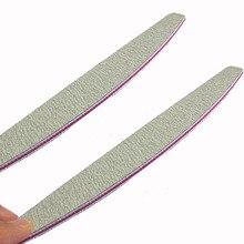 2PCS Tools Professional Polish Sandpaper Buffing  Unha Limas Para e Ongle 100/180 Tool