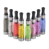 100pcs CE4 Atomizer for EGO T EVOD UGO Battery E Cigarette Clearomizer 1.6 ML Capacity 8 Colors Vape tank Vaporizer