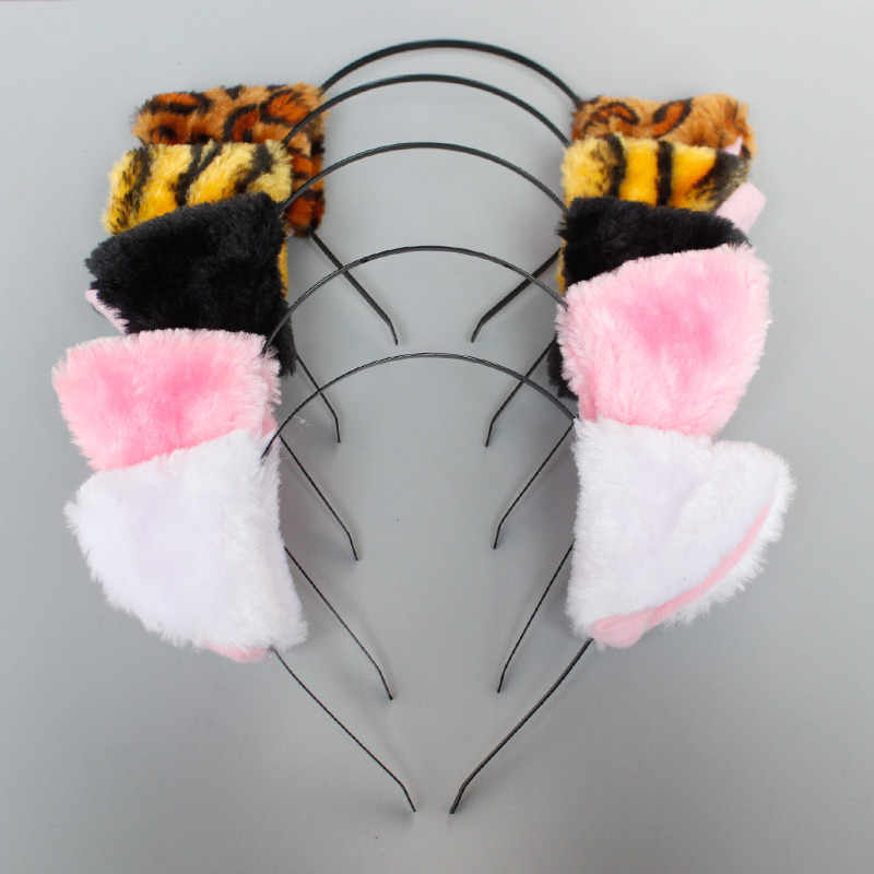 Detail Feedback Questions About Tiger Animal Ears Headband Kids
