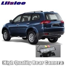 Liislee автомобиля Камера для Mitsubishi Pajero Sport 2008 ~ высокое качество, поступления 2016 г. заднего вида Резервное копирование Камера для друзей Применение | RCA