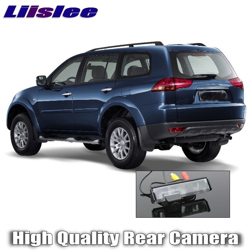 Liislee Car Camera For Mitsubishi Pajero Sport 2008~2016 High Quality Rear View Back Up Camera For Friends Use  RCA