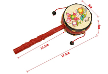 baby toys traditional auspicious rattle 0 and 1 year old traditional puzzle hand toys