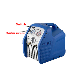 Image 5 - High reliable Mini  Easy to carry Refrigeration recovery units VRR12L  compliant AC 220V Refrigeration recovery machine  1PC