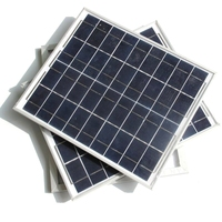 High Quality 20W Polycrystalline Solar Panel Charging 12V Battery Solar Panel Power Home System Solar Module