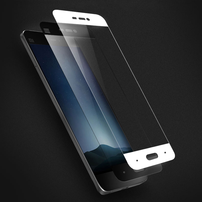 Tempered-Glass Screen-Protector Xiaomi Protective-Film Mi5 For Mi-5/Full-cover/9h 3D