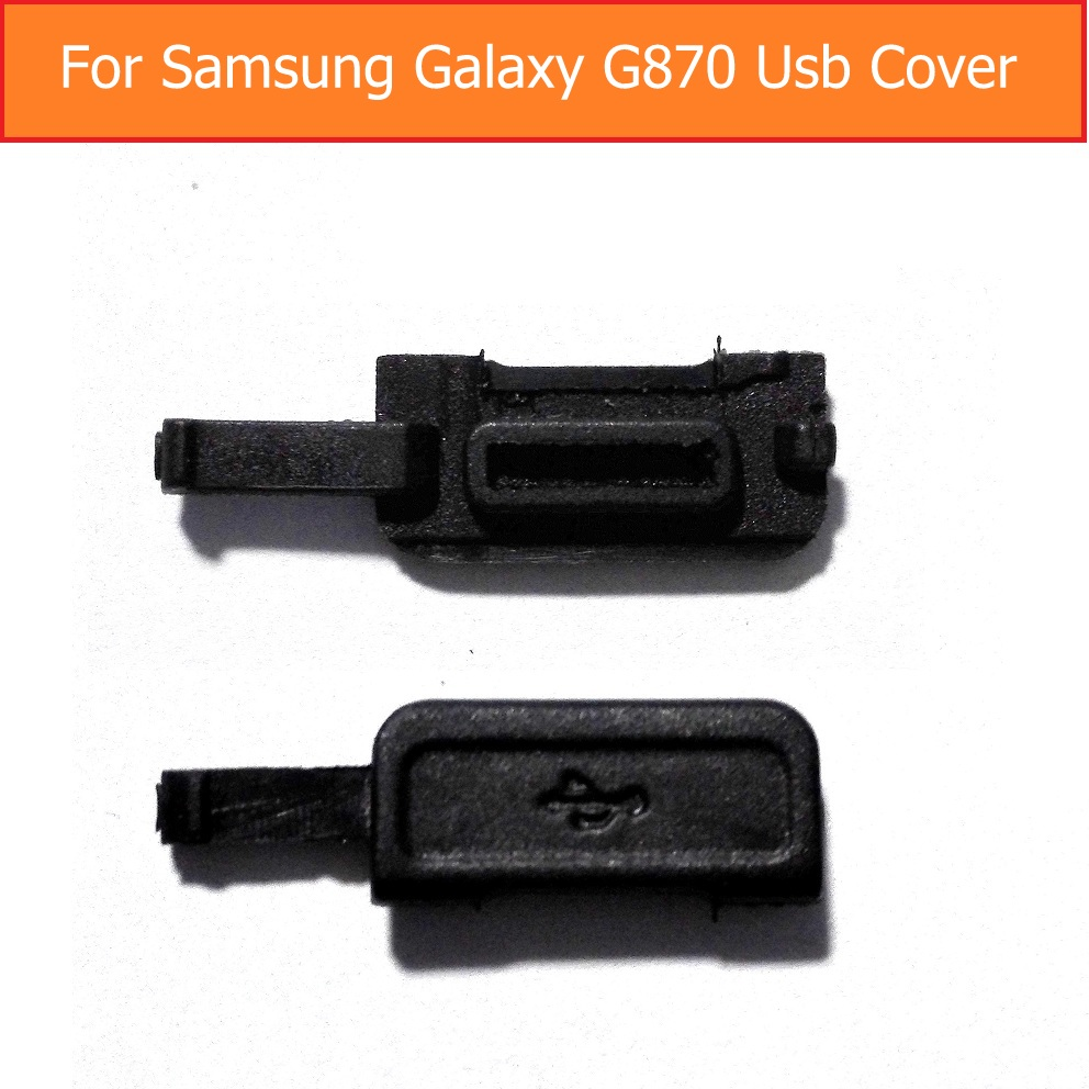 Original USB Charging Port Dust Plug for Samsung Galaxy s5 active <font><b>G870</b></font> usb cover charger Port Slot Cover Dust Waterproof cover image
