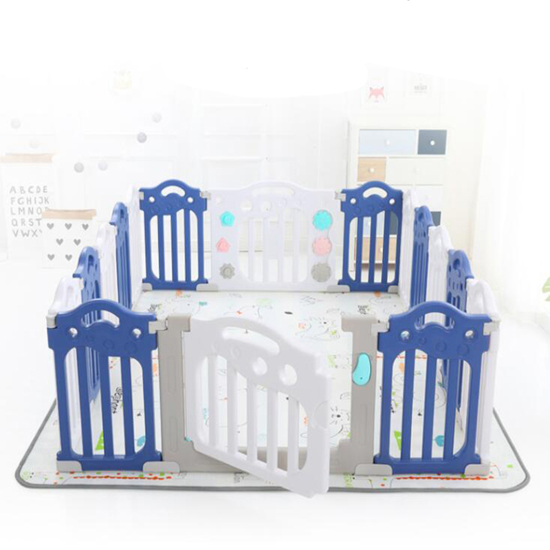 Baby Playpen Fence For Babies Kids Dry Ball Pool  Environmental Protection Barrier Game Gym Center Children's Safety Play Yard
