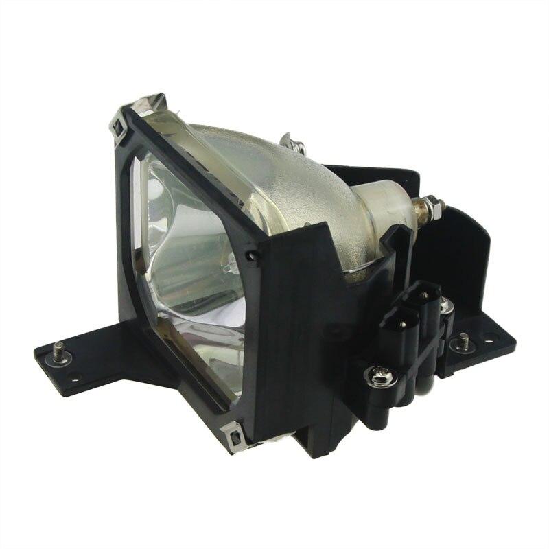 Elplp16 Высокое качество Совместимость лампы внутри Замена лампы с Корпус для Epson PowerLite 51c 71cemp-51 emp-51l emp-71.emp