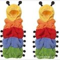Rainbow kid baby Sleeping Bag Caterpillar anti tipi leotard romper parisarc Infant Child swaddle conjoined clothes Sleepsack