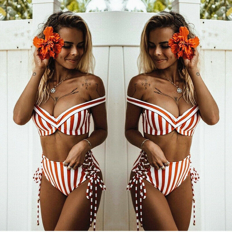 High Waist Swimsuit 2019 Women New Arrival Sexy Striped Bodycon Swimwear Women Brazilian Bikini Set Beachwear Swimsuit BathingHigh Waist Swimsuit 2019 Women New Arrival Sexy Striped Bodycon Swimwear Women Brazilian Bikini Set Beachwear Swimsuit Bathing