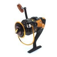 Carp Spinning Fishing Reels Wooden Handle Metal Spool Stainless Steel YA2000 YA7000 Spinning Reel Shaft Rear