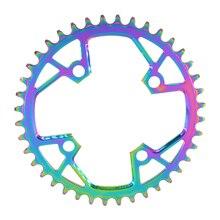 PASS QUEST 94BCD Titanium-plated MTB Narrow Wide Chainring/Chain Ring 32T/34T/36T/38T/40T Bike Chainwheel/Chain Wheel Crankset