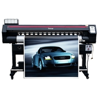 industrial inkjet printer high quality 1600mm eco solvent printer single head XP600 banner printing machine