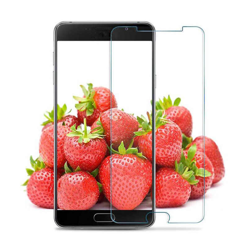 GerTong 9H الزجاج المقسى واقي للشاشة لسامسونج غالاكسي A3 2016 A5 A7 J1 J3 J5 J7 ملاحظة 3 4 5 S3 S4 S5 S6 غلاف للهواتف المحمولة