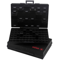 AideTek BOXALL96AS 96 Lids Anti Static ESD Safe Enclosure SMD SMT IC Diode Parts Organizer Transistor
