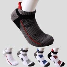 1 пара, Camewin, мужские профессиональные носки для бадминтона, для игры в теннис, сквош, спортивные, утолщенные, с хлопковой подошвой, впитывают пот, дышащие