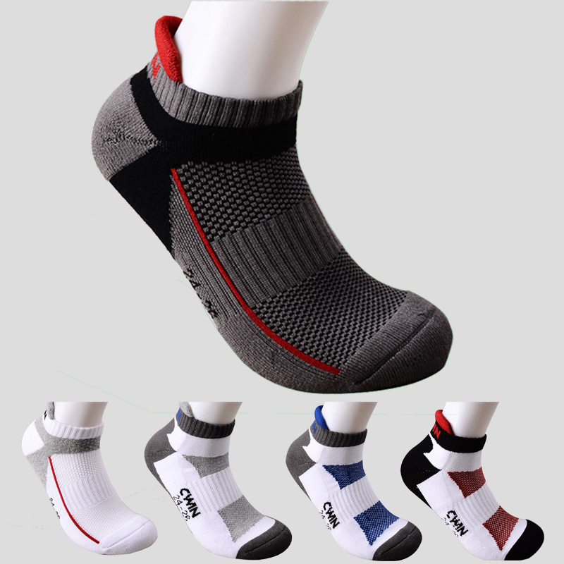 1 Pair Camewin Men Professional Badminton Socks Tennis Squash Sports Thickened Towel Bottom Cotton Absorb Sweat Breathable