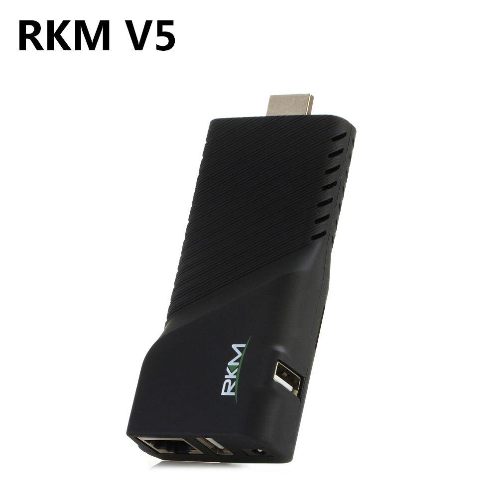 Android 4.4 Rikomagic RKM V5 RK3288 Quad Core TV Stick Box 4K*2K WiFi H.265 Bluetooth 4.0 Smat Mini PC Support HDMI TF Card RJ45 w8 pro 32gb mini pc & tv box quad core atom z8350 windows10 os support tf card hdmi tv box