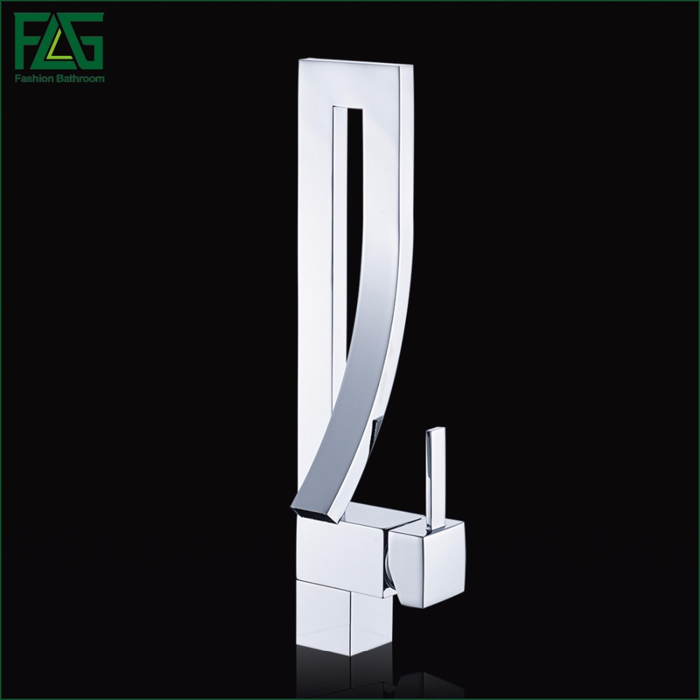 European Kitchen Faucet Deck Mounted Kitchen Water Mixer Tap Chrome Square Waterfall Griferia Lavamanos Cold Hot Musluk 210-22C the ivory white european super suction wall mounted gate unique smoke door