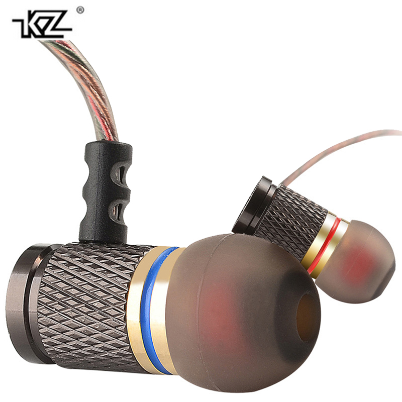 KZ-EDR1/ED2 bass earphone gaming metal music headset for iphone noise cancelling earbuds with mic inear earphones for samsung golf baroque noise cancelling stereo sound 3 5mm jack music earphones for iphone 6 ipad samsung lg htc moto mobile phone earbuds