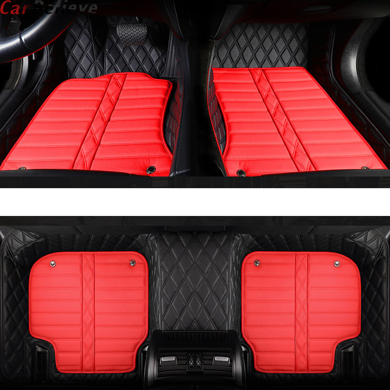 Car Believe Genuine Leather car floor mat For honda crv 2008 accord jazz fit 2014 civic