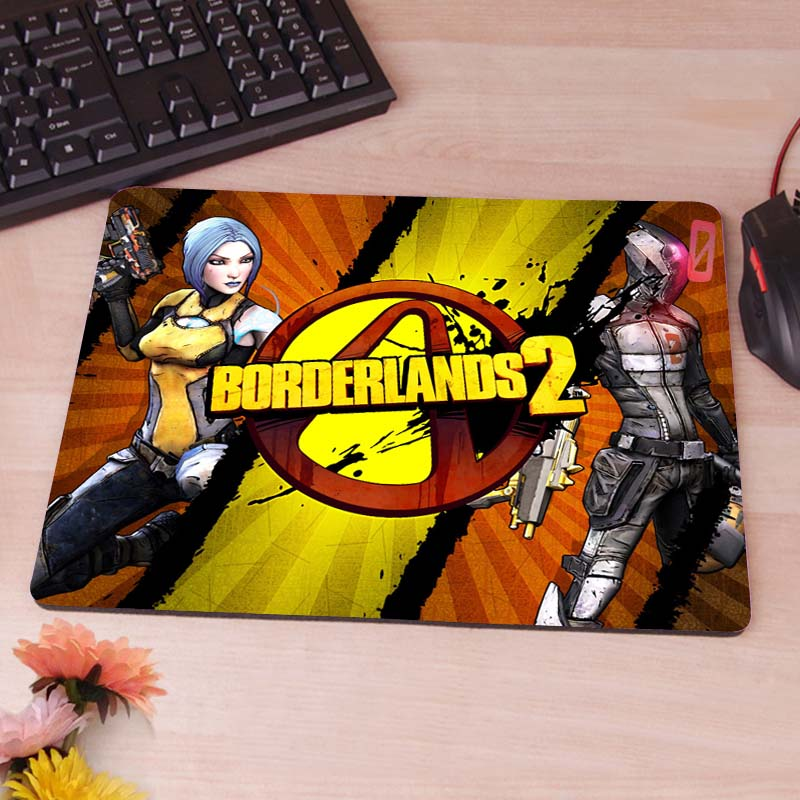MaiYaCa Borderlands Games Wallpaper Custom Diy Design Gaming Mousepad Rubber Mats image