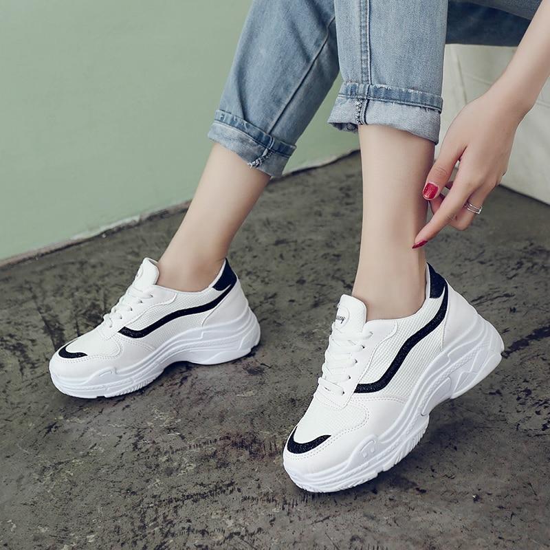 Fashion 2019 Tennis Shoes Woman Summer