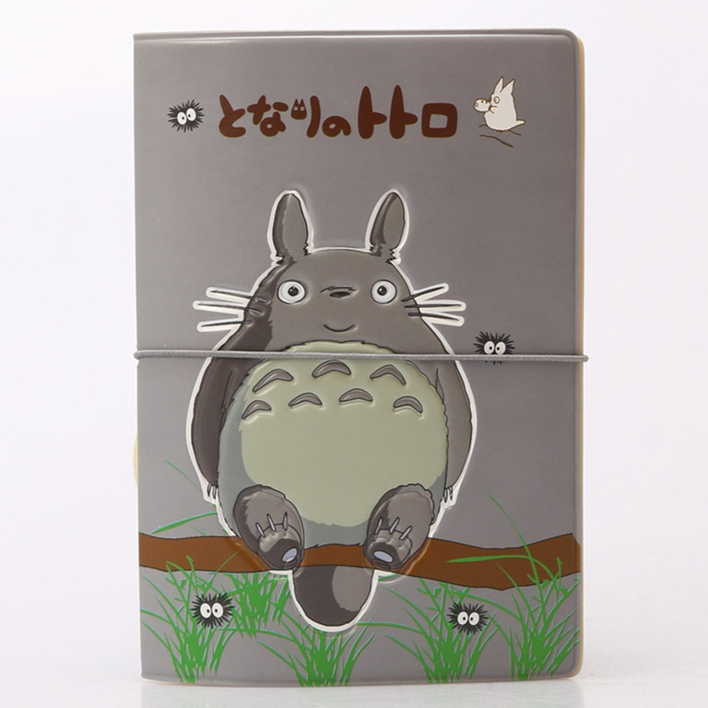 Cute Cartoon Totoro Passport Cover ID Credit Card Bag 3D Design PU Leather Passport Holder Bag 14*9.6CM 3d design vintage world trip passport cover id credit card bag pvc leather passport holder 14 9 6cm
