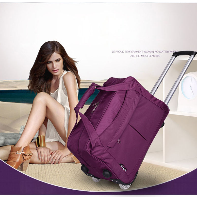 Fashion Travelbag Tourism Women And Men Travel Bags Trolley Travel Bag