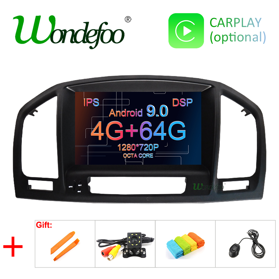 DSP Android 9 0 4G 64G CAR GPS Radio For Opel Vauxhall Insignia DVD Player Navigation
